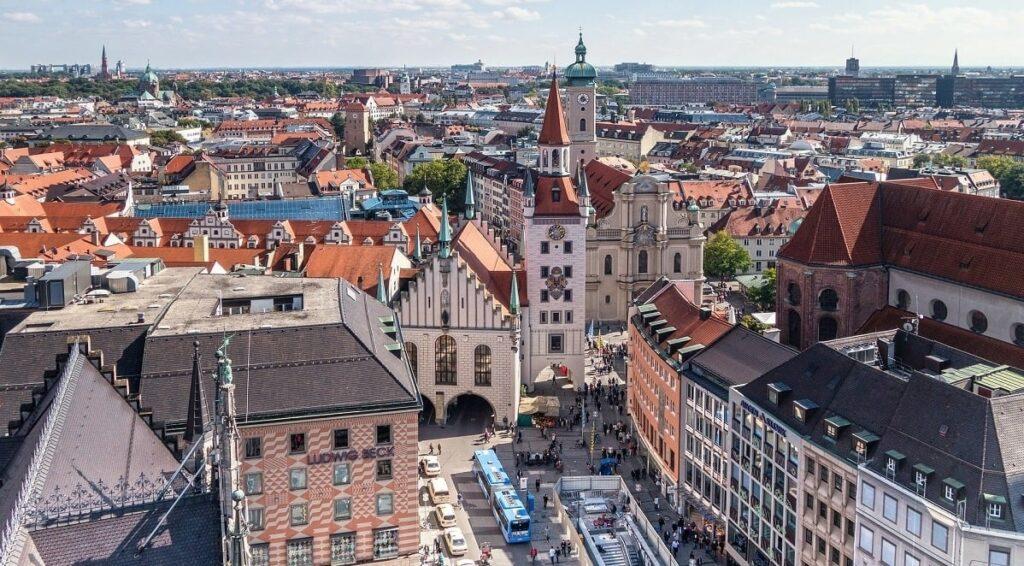 תמונה של מרכז העיר ברלין