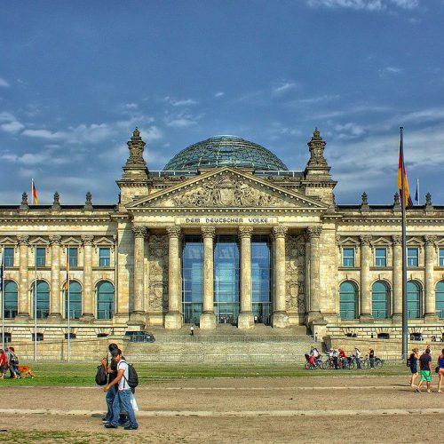 בניין הרייכסטאג, גרמניה, ברלין