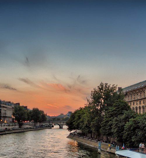 נהר הסיין, פריז